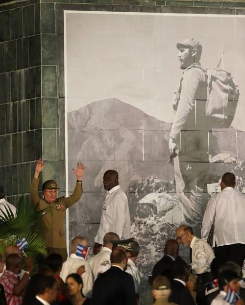 L'ultimo saluto a Fidel Castro a Santiago 10