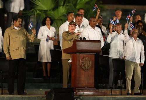 L'ultimo saluto a Fidel Castro a Santiago 8