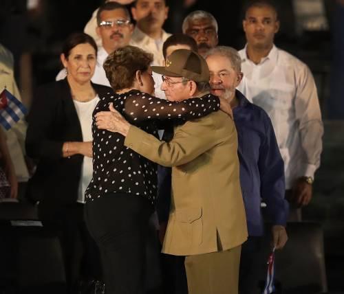 L'ultimo saluto a Fidel Castro a Santiago 16