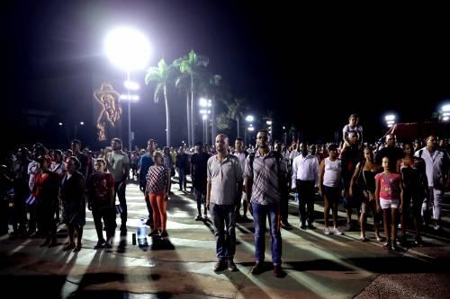 L'ultimo saluto a Fidel Castro a Santiago 14
