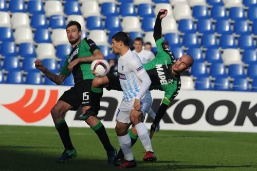 Il Sassuolo cede 2-0 al Genk: neroverdi fuori a testa alta dall'Europa League
