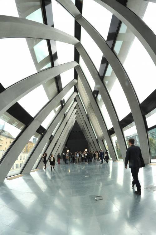 La nuova sede della Fondazione Feltrinelli a Milano 2