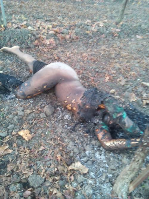 La foto choc della donna arsa viva a Foggia 2
