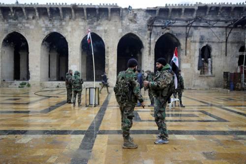 La moschea degli Omayyadi in macerie 8