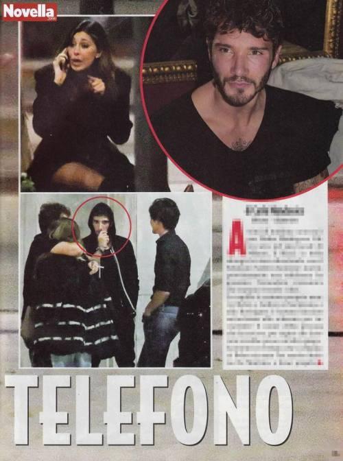 Belen Rodriguez piange al telefono con De Martino 3