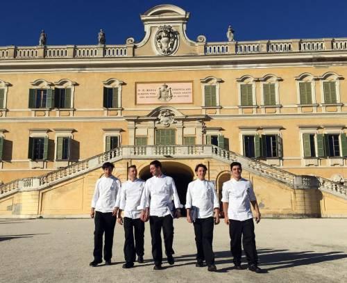 La scuola internazionale di cucina italiana e i futuri chef