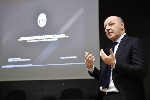 L'Inter ha in pugno Marotta: pronto un contratto triennale per il nuovo ad