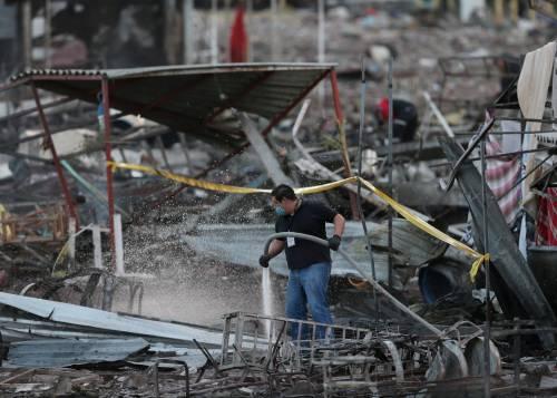 Messico, esplode il mercato dei fuochi artificiali 3