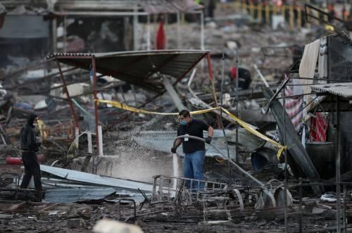 Messico, esplode il mercato dei fuochi artificiali 17