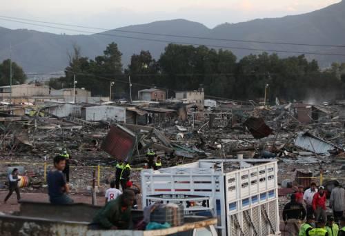 Messico, esplode il mercato dei fuochi artificiali 20