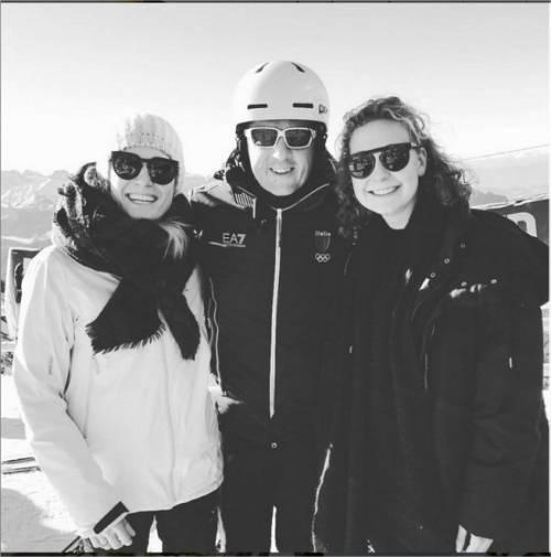 Renzi in vacanza sulla neve: in sci in Alto Adige