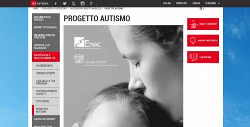 Progetto autismo, in viaggio a Malpensa e a Linate