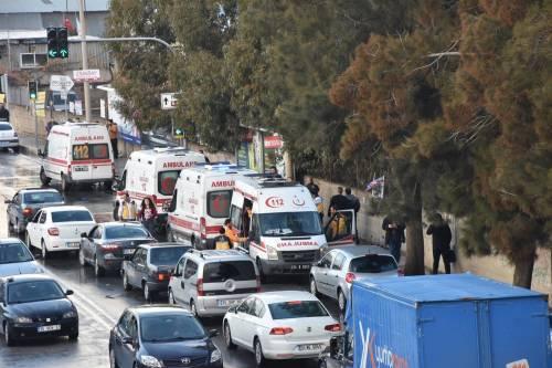 La scena dell'attentato a Izmir 8