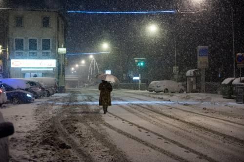 Arriva burian sull'Italia È gelo da Nord a Sud