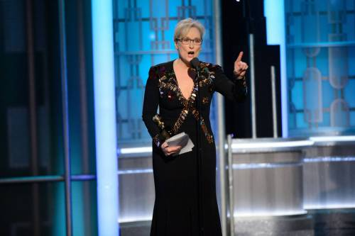 Meryl Streep attacca Trump