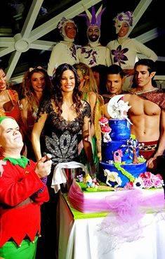 Manuela Arcuri e il party per i suoi 40 anni 8