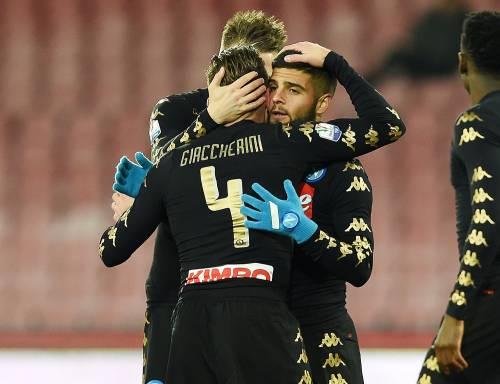 Coppa Italia: il Napoli cala il tris contro lo Spezia e vola ai quarti