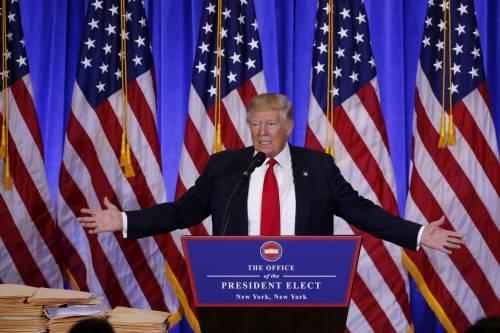 Donald Trump spiato dalla Stasi