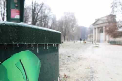 Milano, la città si sveglia ghiacciata 2