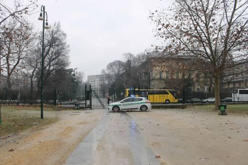 Milano, la città si sveglia ghiacciata 8