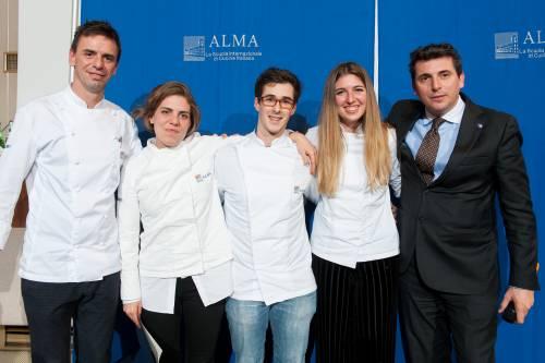 Alma cucina: ecco i nuovi 71 cuochi professionisti