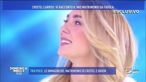 """Domenica Live, Cristel Carrisi smascherata dal pubblico: """"Prima insulti la D'Urso e poi vai in trasmissione?"""""""