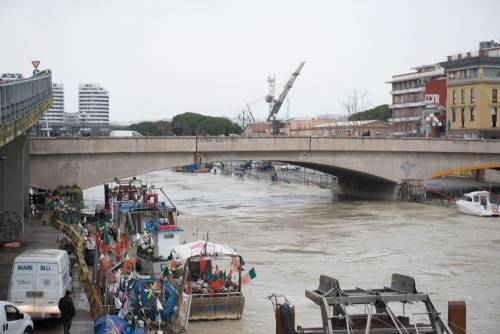 L'esondazione del fiume Pescara 4