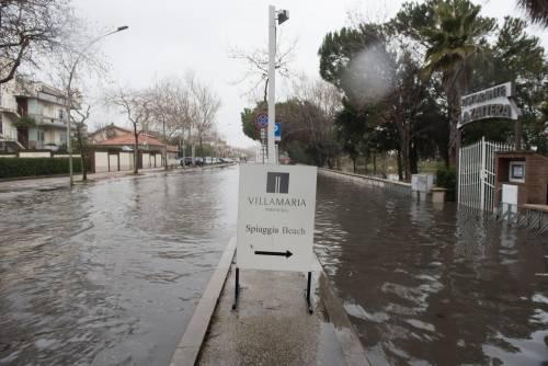 L'esondazione del fiume Pescara 13