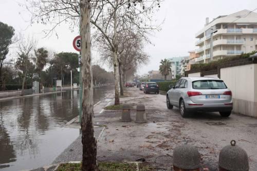 L'esondazione del fiume Pescara 16