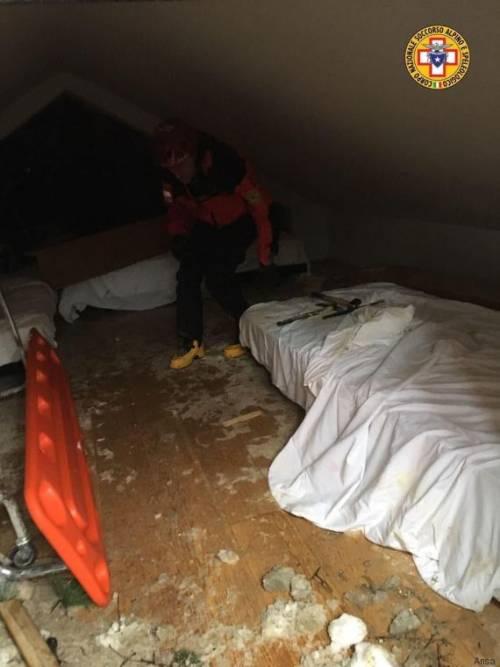 Le stanze di Rigopiano: il rifugio dei superstiti 5