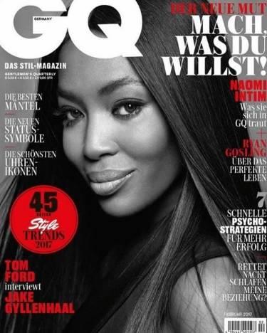 Naomi Campbell si spoglia per Gq a 46 anni