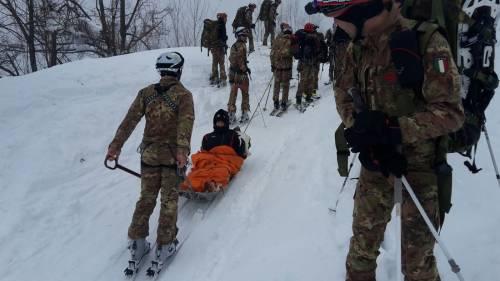Gli alpini nei paesi isolati dalla neve 25