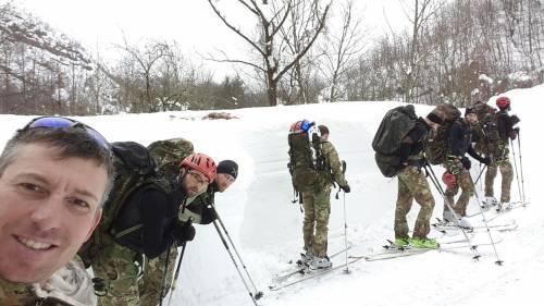 Gli alpini nei paesi isolati dalla neve 21