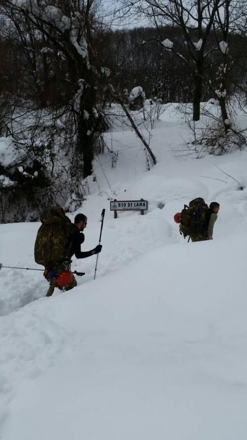 Gli alpini nei paesi isolati dalla neve 26
