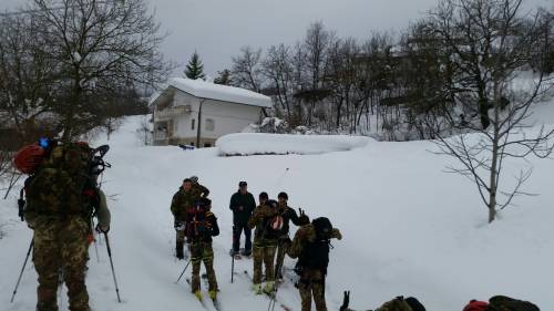 Gli alpini nei paesi isolati dalla neve 27