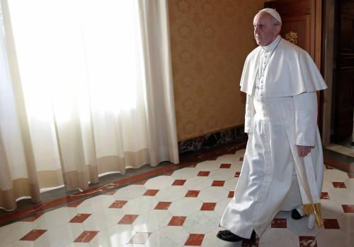 """Papa Francesco: """"Non chiudete la Chiesa a chi vuole convivere"""""""