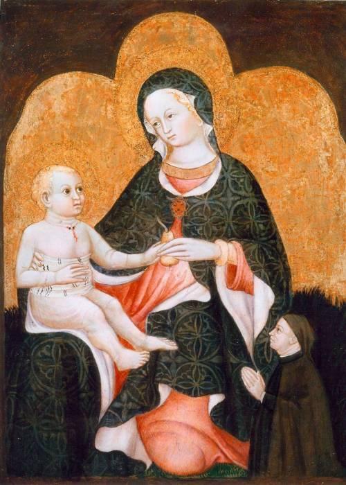 """Maestro di Castrocaro, """"Madonna della pera"""""""