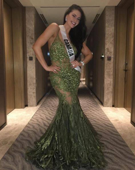 Siera Bearchell, canadese a Miss Universo, è accusata di essere grassa