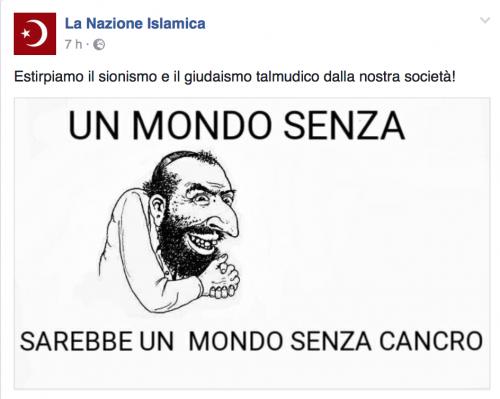 """""""Italia islamica e patriottica"""": i post a favore dell'Isis e della Sharia 4"""