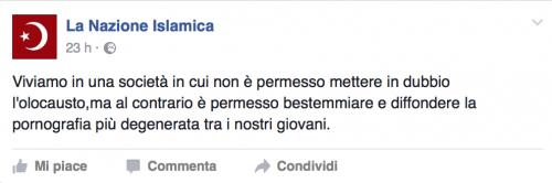 """""""Italia islamica e patriottica"""": i post a favore dell'Isis e della Sharia 5"""