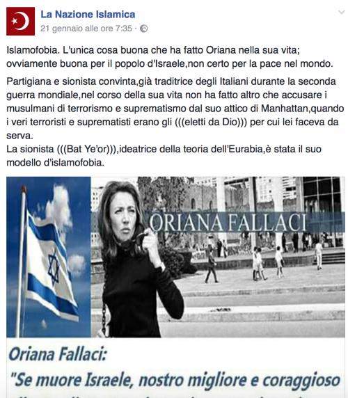 """""""Italia islamica e patriottica"""": i post a favore dell'Isis e della Sharia 2"""