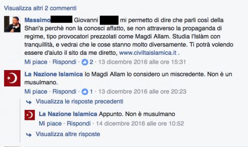 """""""Italia islamica e patriottica"""": i post a favore dell'Isis e della Sharia 3"""