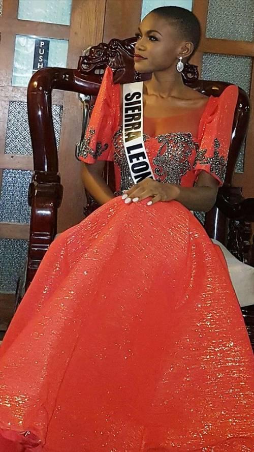Hawa Kamara, a Miss Universo la bellezza della Sierra Leone 7