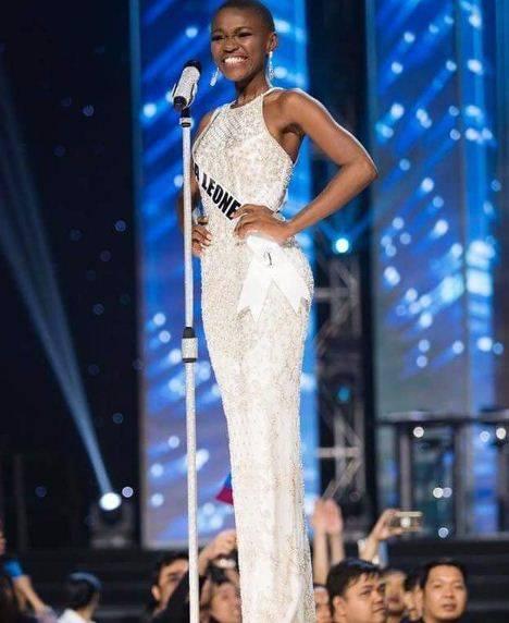 Hawa Kamara, a Miss Universo la bellezza della Sierra Leone 4