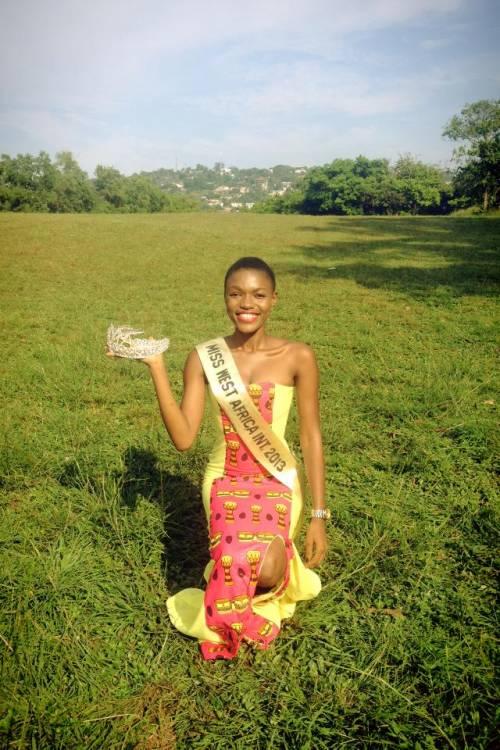 Hawa Kamara, a Miss Universo la bellezza della Sierra Leone 2
