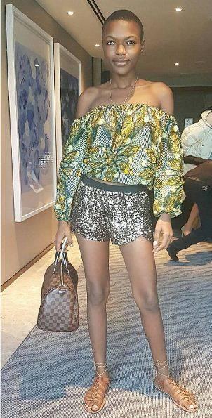 Hawa Kamara, a Miss Universo la bellezza della Sierra Leone 8