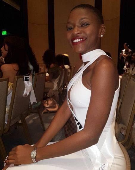 Hawa Kamara, a Miss Universo la bellezza della Sierra Leone 9
