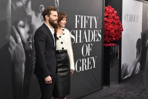 "Dakota Johnson e Jamie Dornan, sexy protagonisti di ""50 Sfumature"" 21"