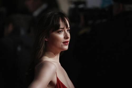 "Dakota Johnson e Jamie Dornan, sexy protagonisti di ""50 Sfumature"" 29"