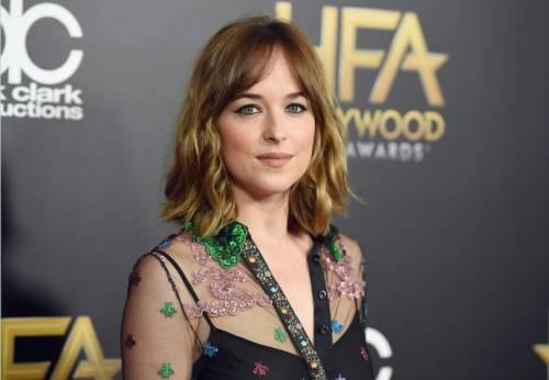 "Dakota Johnson e Jamie Dornan, sexy protagonisti di ""50 Sfumature"" 25"